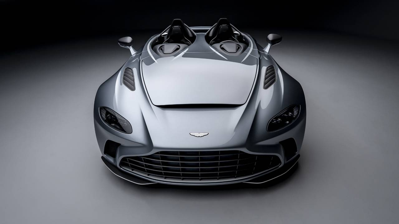Aston Martin V12 Speedster limited to 88 units globally