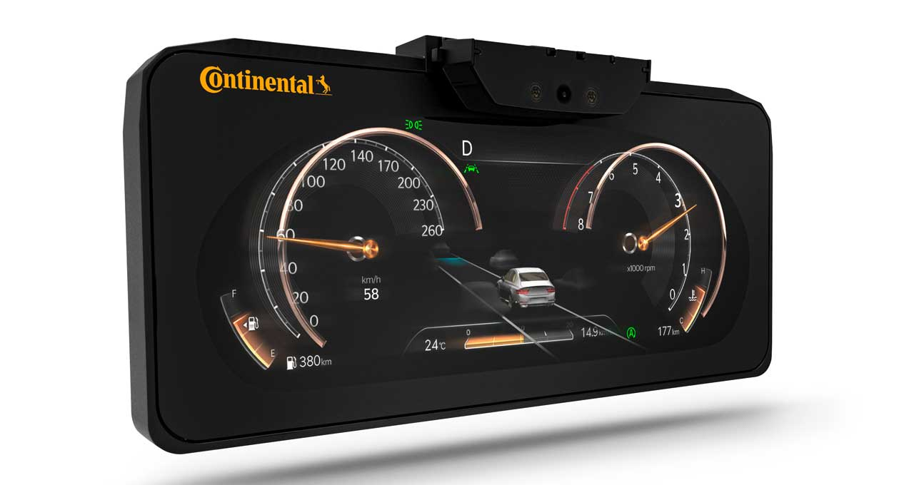 Continental 3D automotive display needs no glasses