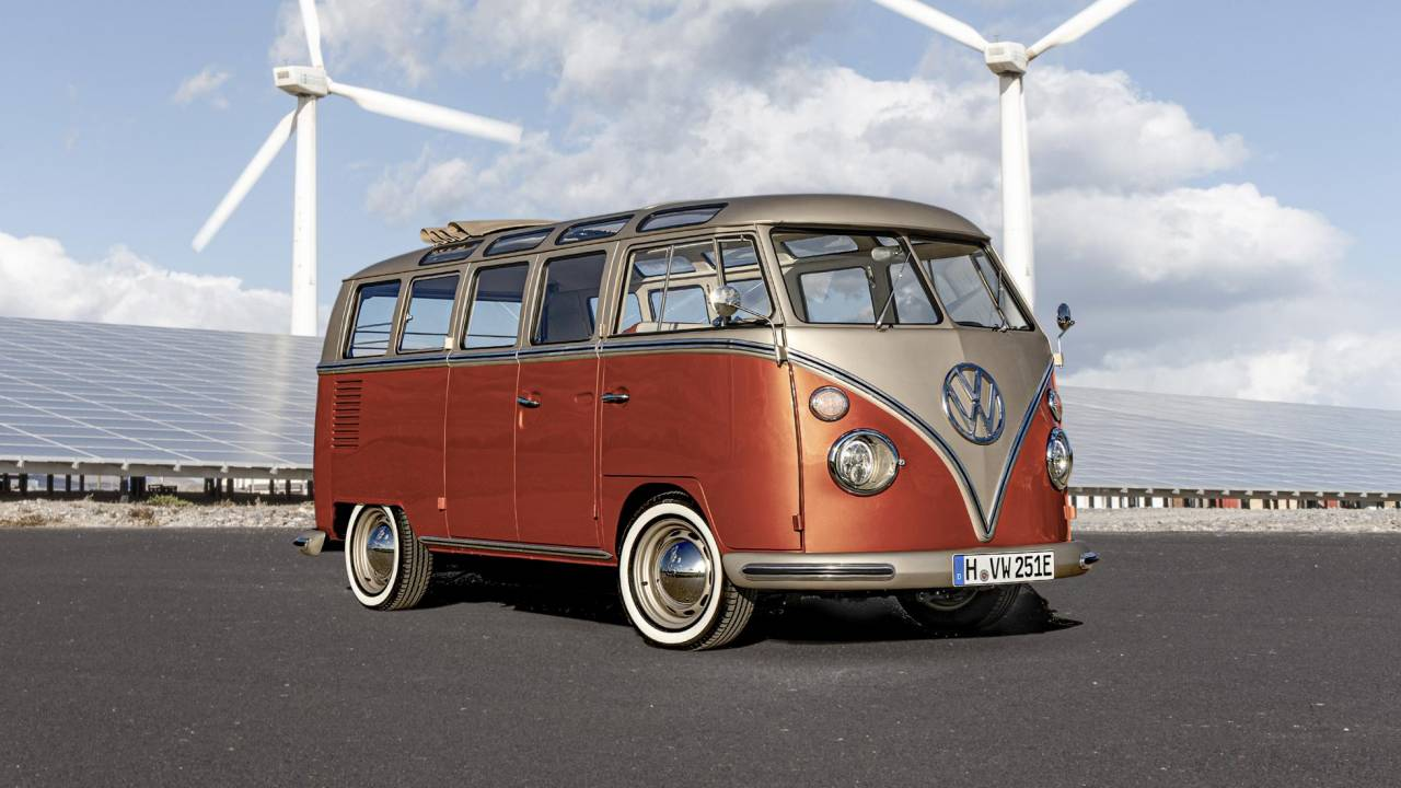 Volkswagen e-Bulli Concept by eClassics is an EV conversion done right