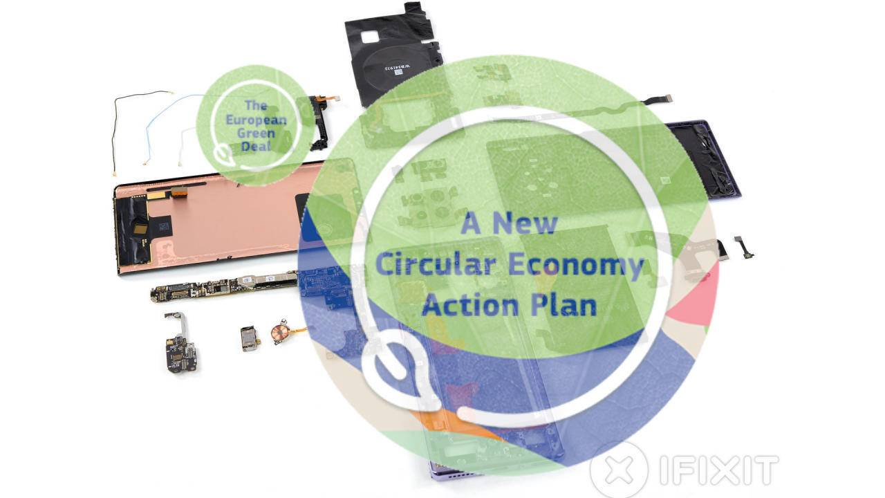 "EU Circular Economy ""right to repair"" might include software updates"