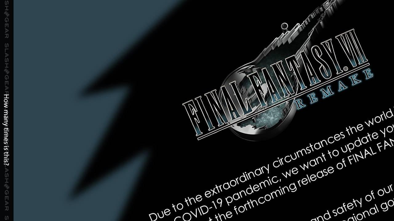 "Final Fantasy VII Remake coronavirus ""delay"" blame spread by Square Enix"