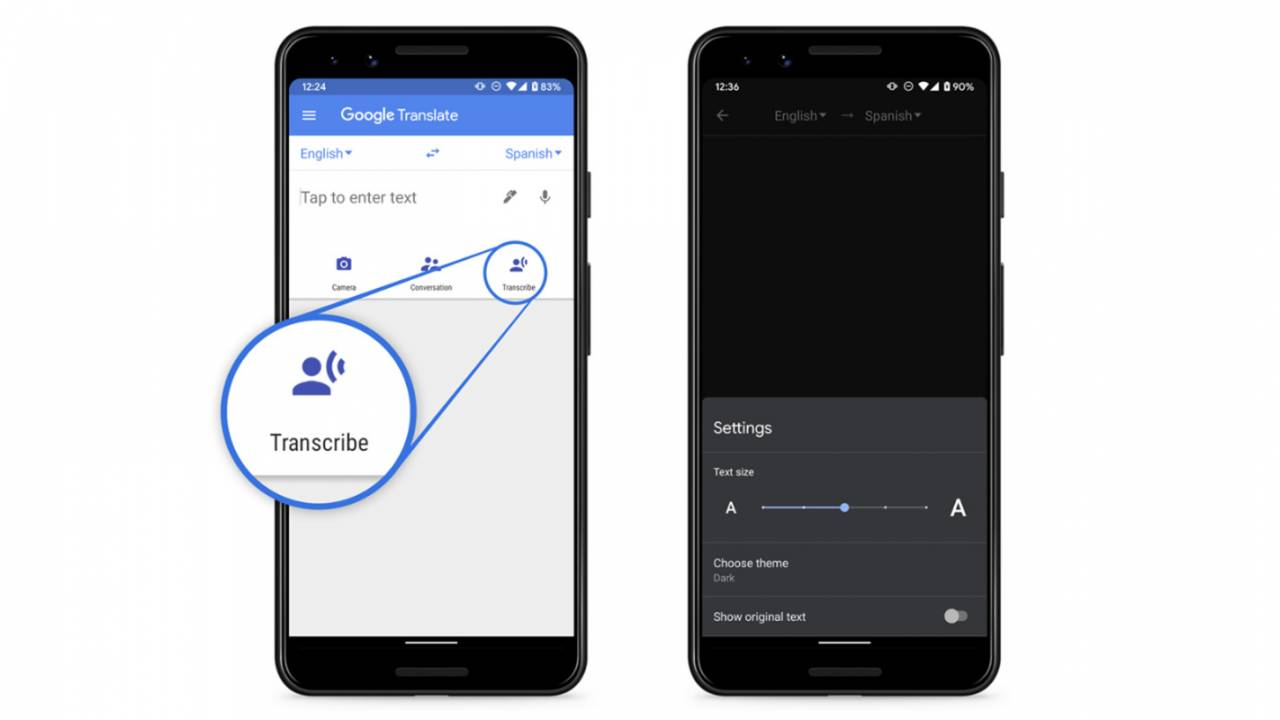 Google Translate on Android can now transcribe speech in real time