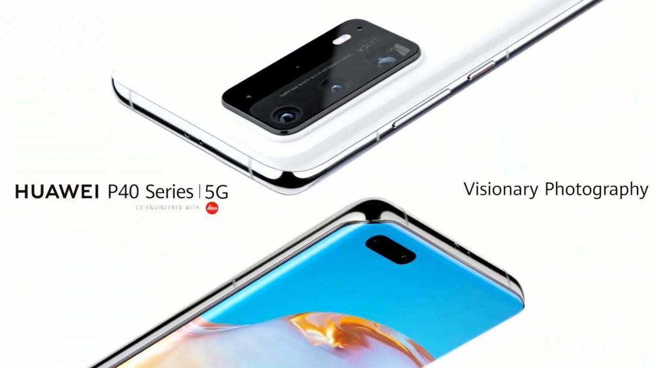 Huawei P40 Series official: Great cameras and a great big problem