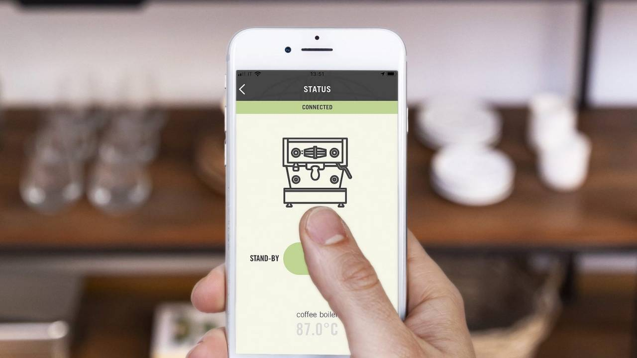 La Marzocco's espresso machines now have an app
