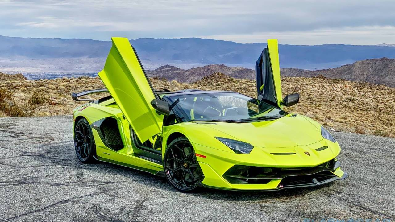 Lamborghini is recalling 26 Aventador SVJs to fix a faulty door handle