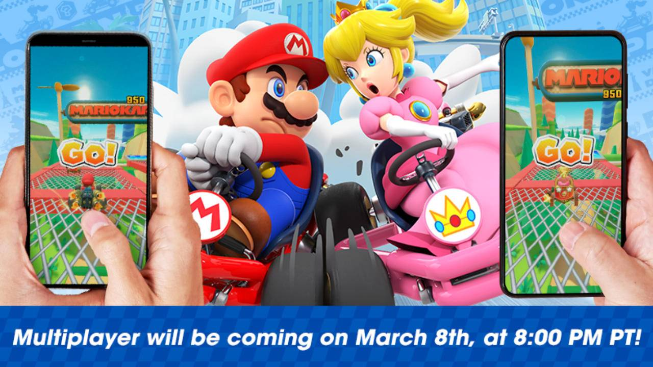 Mario Kart Tour multiplayer will come with global race rooms