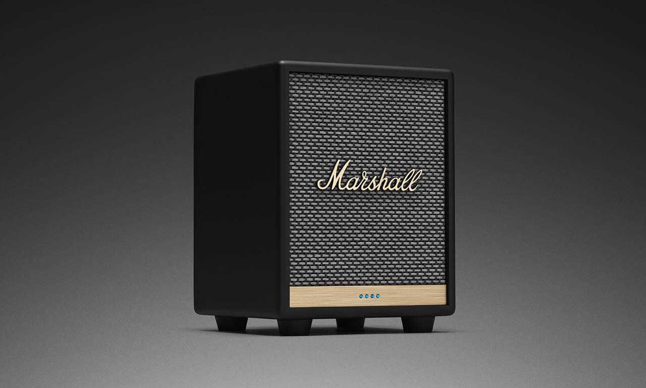 Marshall Uxbridge Smart Speaker Packs Alexa And Multi Room Support Slashgear