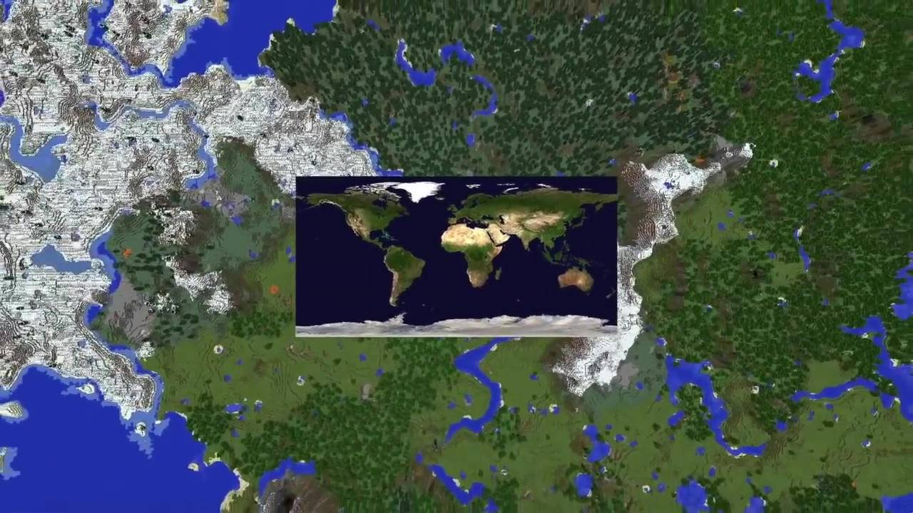 Minecraft scale version of the Earth is slowly taking shape
