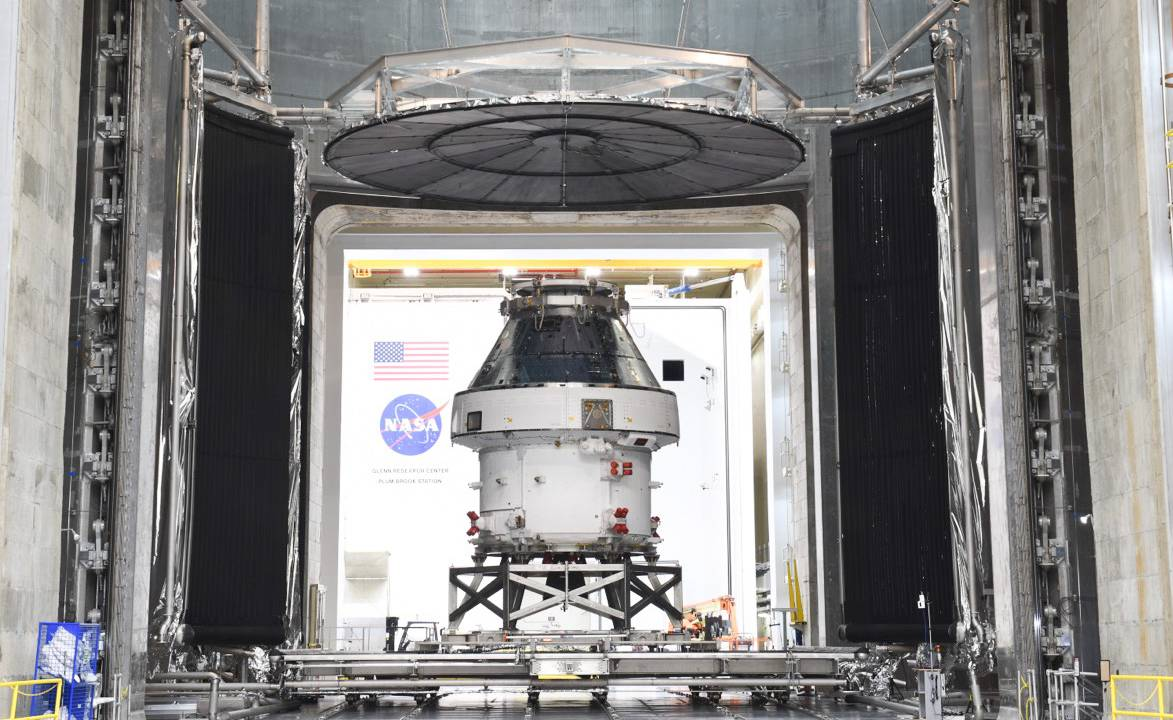 The NASA Orion spacecraft just hit a huge milestone