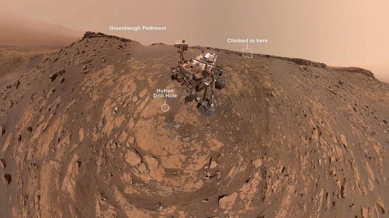 Curiosity rover's incredible March selfie marks new record trip on Mars