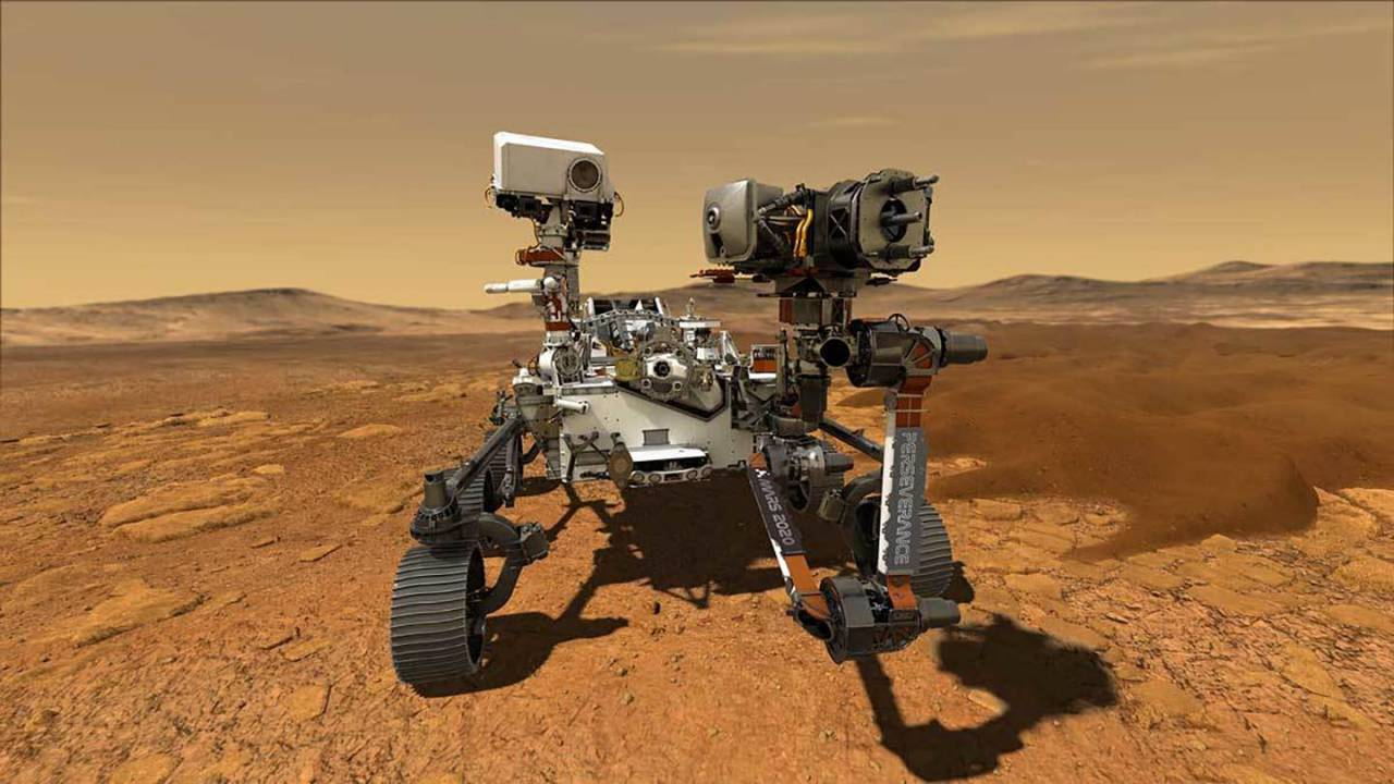 NASA reveals the official name of its Mars 2020 rover