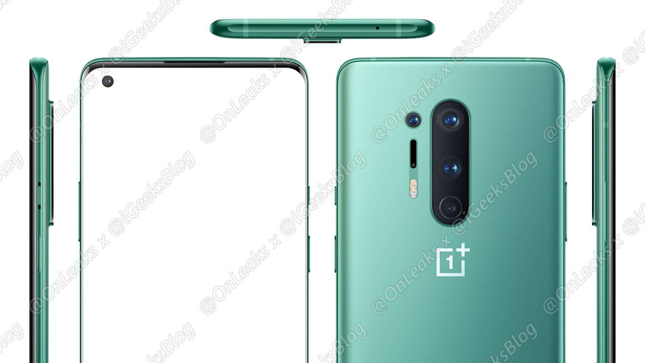 OnePlus 8 Pro renders reveal a more traditional and classic design