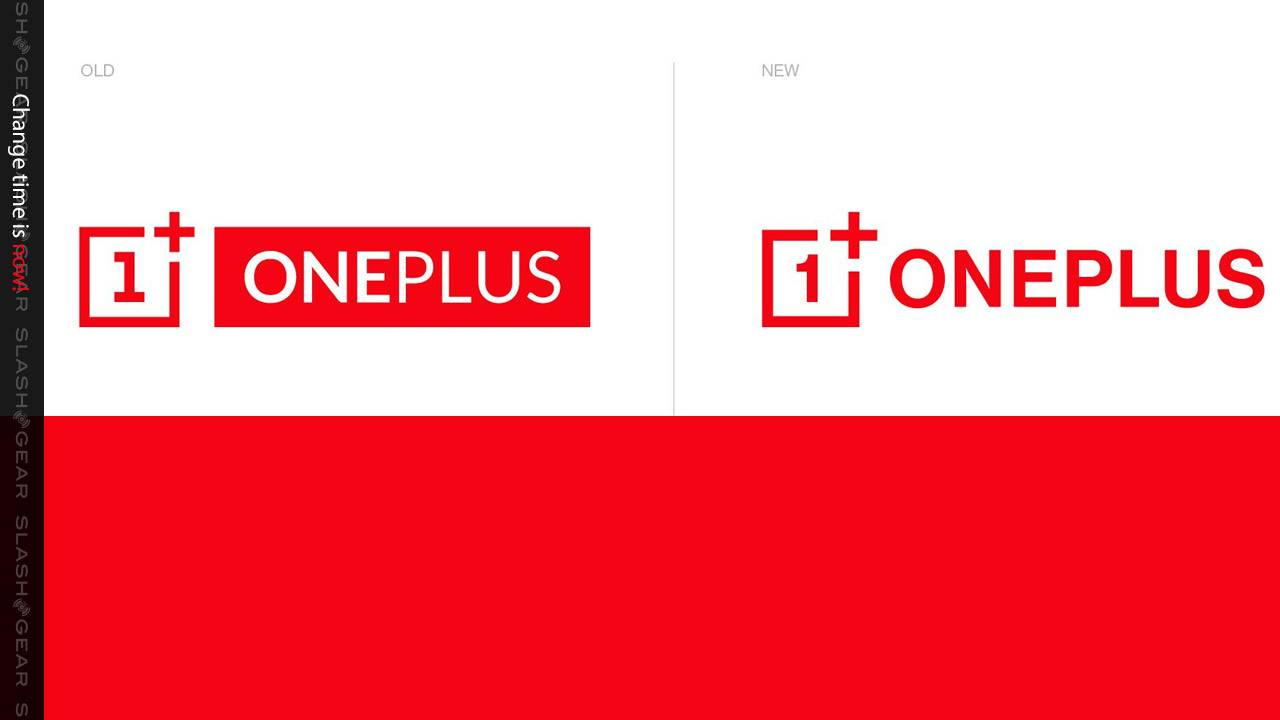 OnePlus brand change, again, less blocky this time