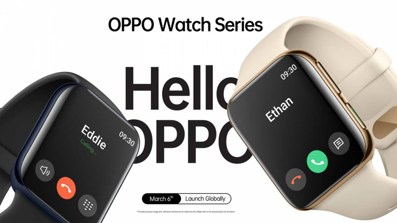 OPPO Watch event will reveal the wearable in early March