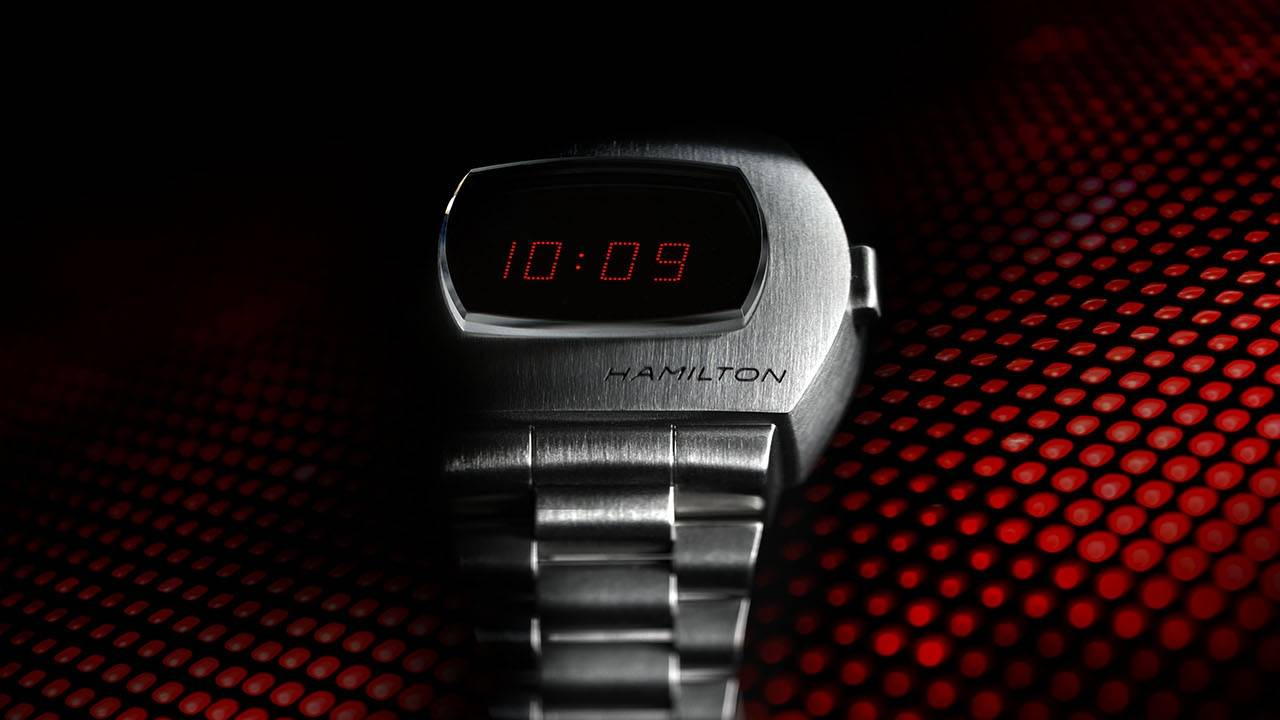 Hamilton PSR brings back the Pulsar watch like it was the 70s again
