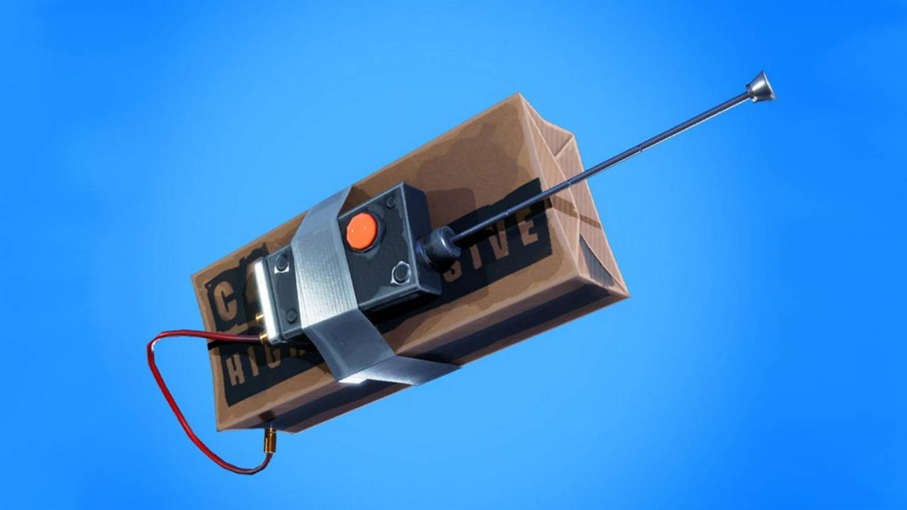 Epic nerfs Remote Explosives in Fortnite after complaints