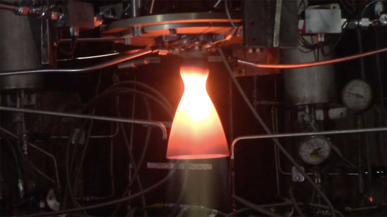 NASA's next-gen moon thrusters have survived over 60 glowing-hot fire tests
