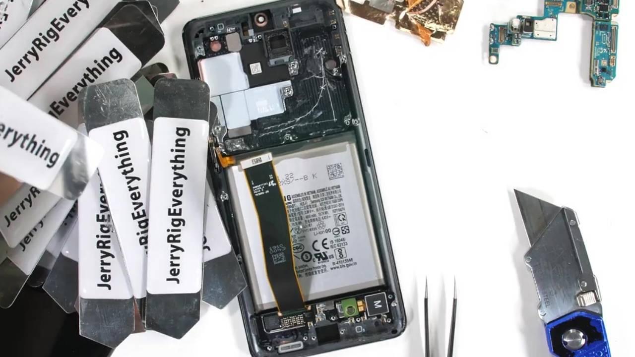 Galaxy S20 Ultra 5G teardown reveals some worrying secrets