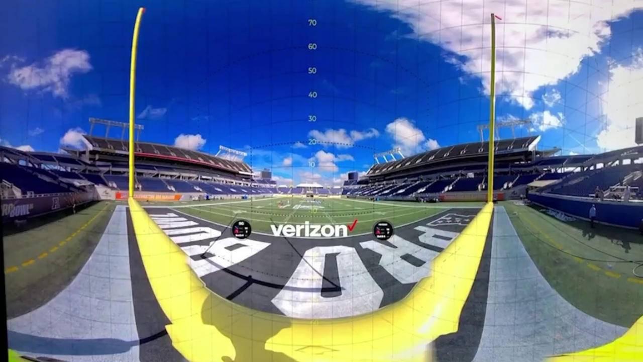 Insta360 8K Live software, Verizon 5G live streams Orlando NFL game to Miami
