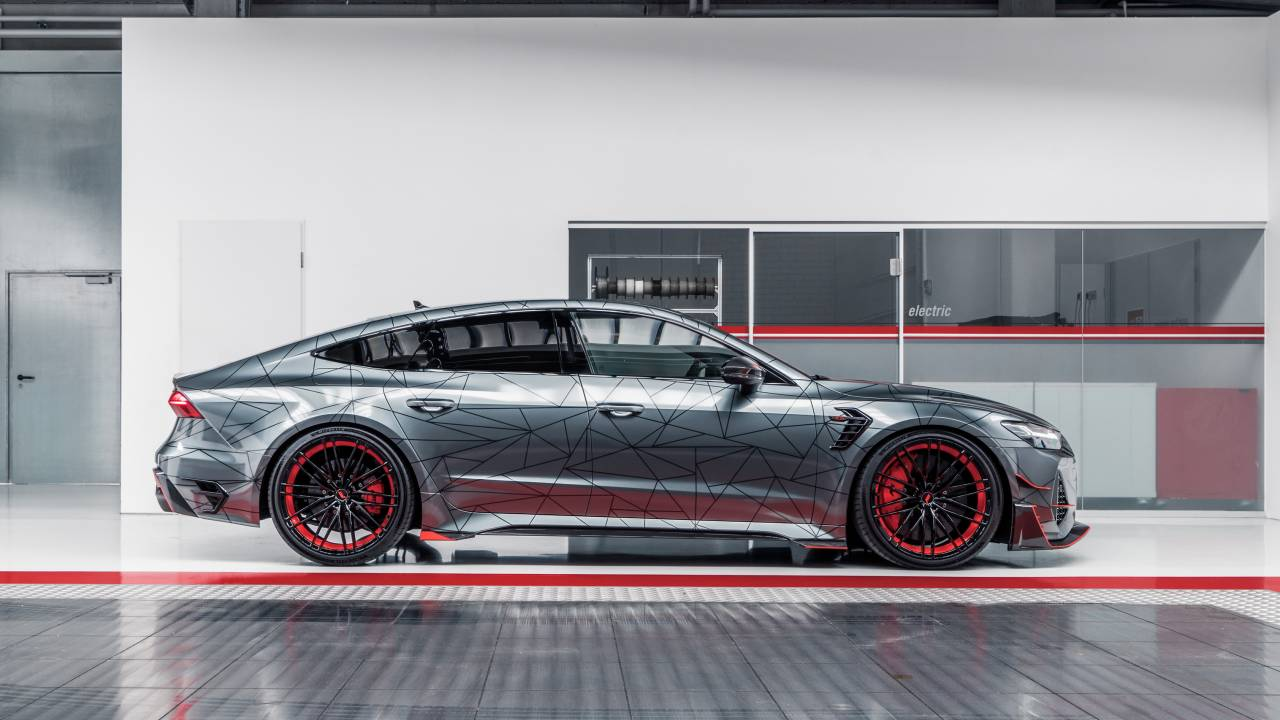 This ABT RS7-R is a wilder version of Audi's RS7 Sportback