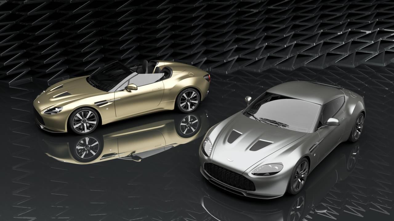 Aston Martin Vantage V12 Zagato Heritage Twins By R Reforged Starts At 2m Slashgear
