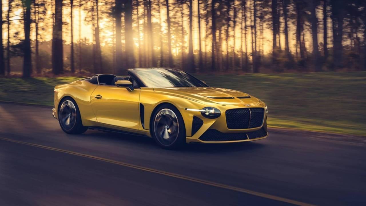 Bentley Design Team presents six renditions of Mulliner Bacalar speedster