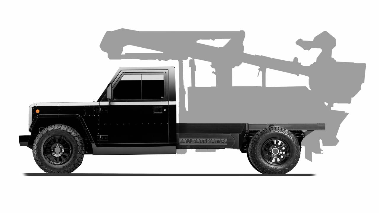 Bollinger introduces Class-3 B2 Chassis Cab for commercial applications