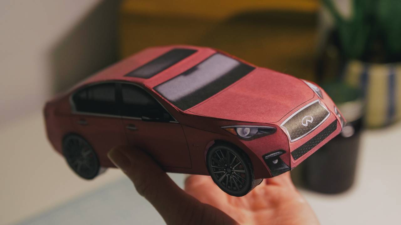 Infiniti begins 'Park it for Now' campaign with build-it-yourself Carigami models