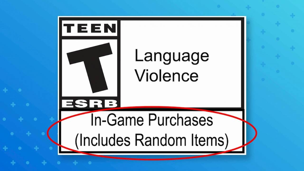 ESRB reveals new loot box labels but we're seeing two problems