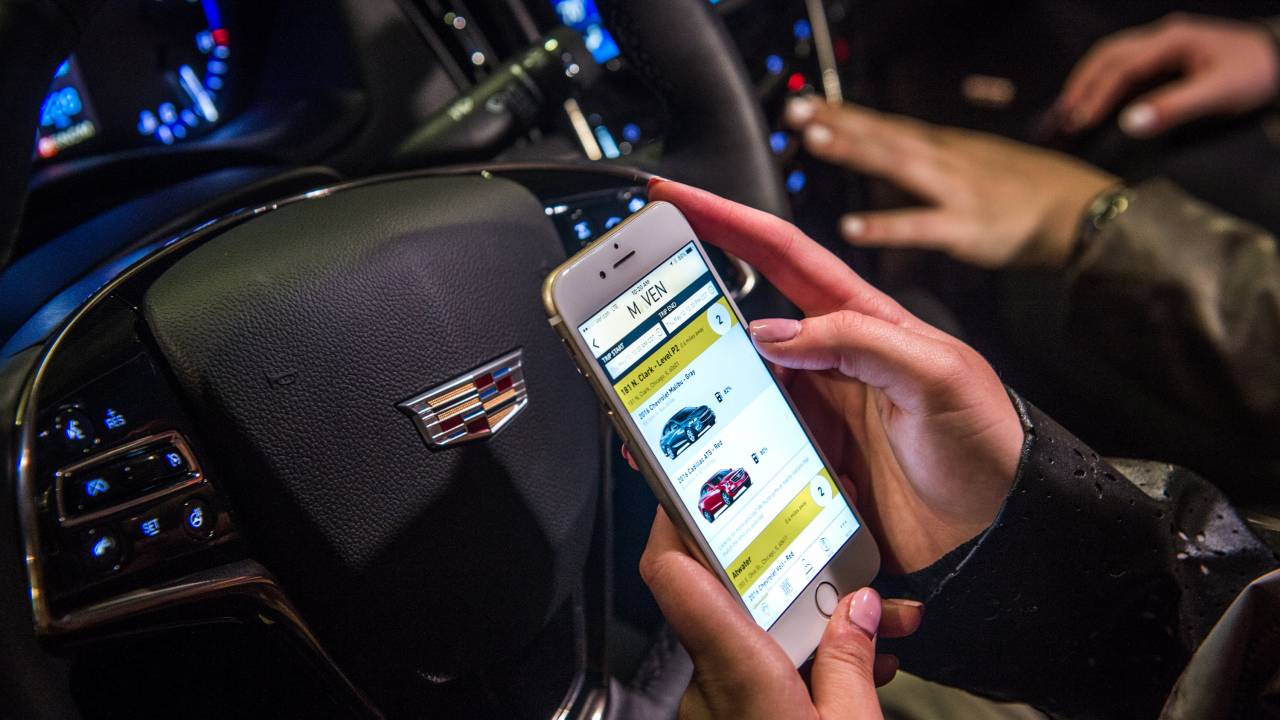 GM shutters Maven car sharing business