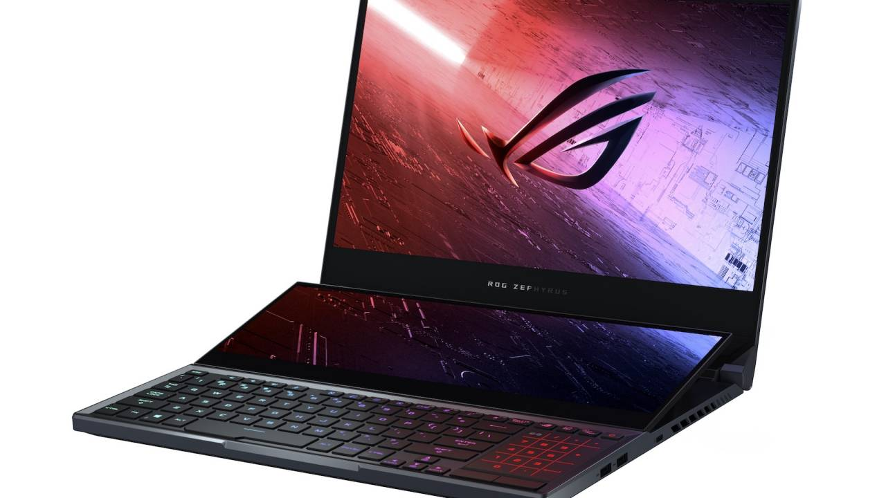 ASUS ROG Zephyrus Duo 15 dual-screen laptop leads huge gaming upgrade