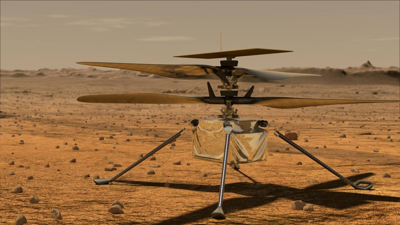 NASA's Mars Helicopter gets its official name – and it's perfect