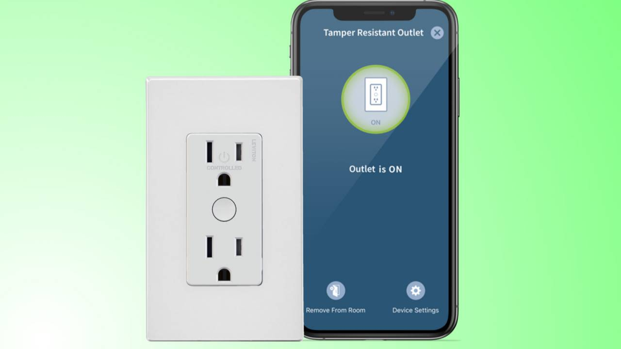 Leviton's new smart outlet bakes WiFi in but keeps fingers out