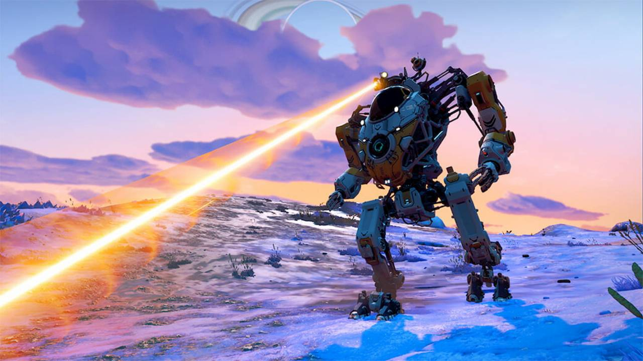 No Man's Sky is getting mechs: Here's what they can do