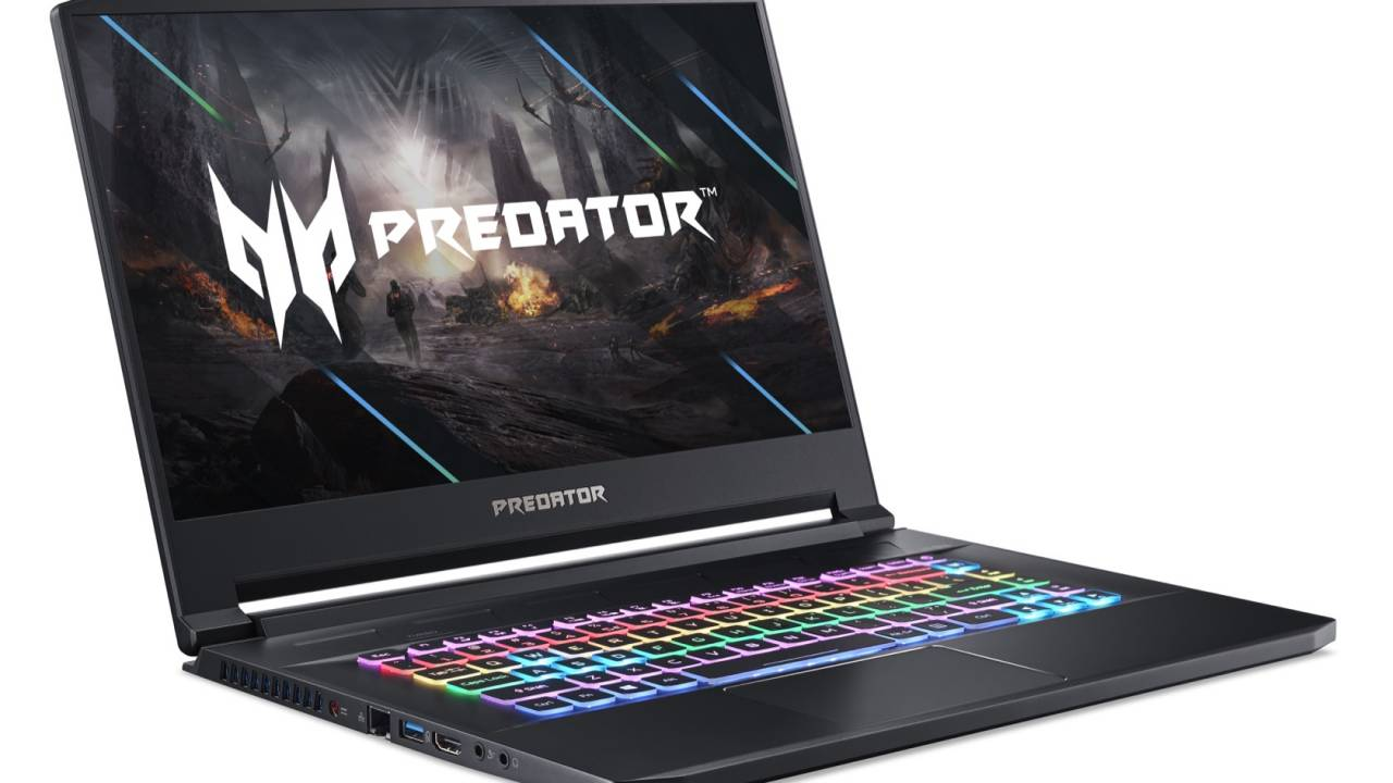 Acer Predator Triton 500 and Nitro 5 gaming laptops pack new Intel Core H-Series
