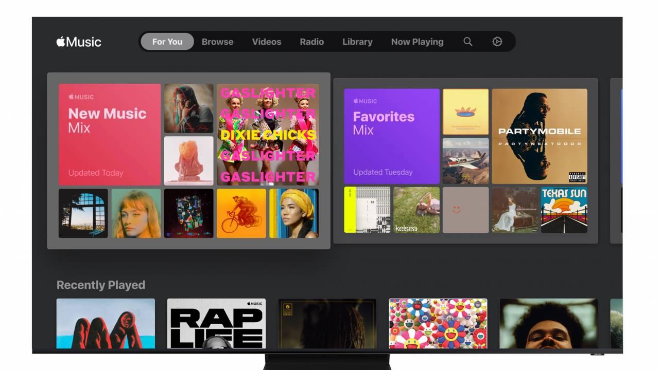 Apple Music app for Samsung Smart TVs released