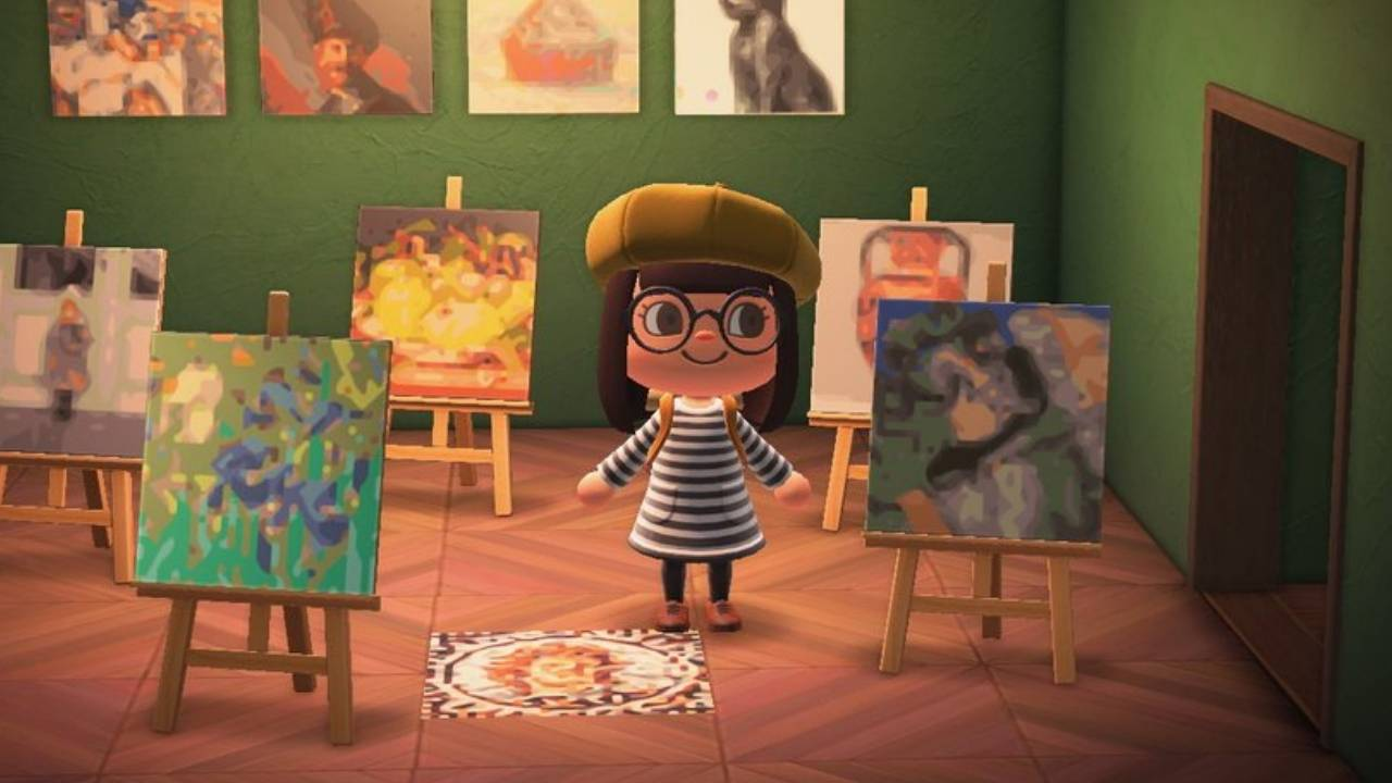 Animal Crossing: New Horizons can use Getty Museum art in-game