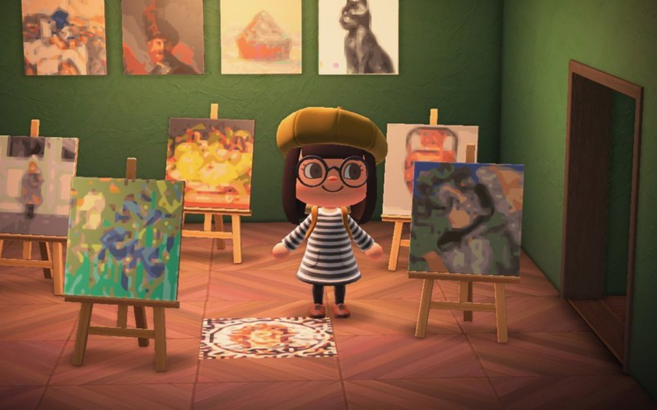 Animal Crossing New Horizons Can Use Getty Museum Art In Game