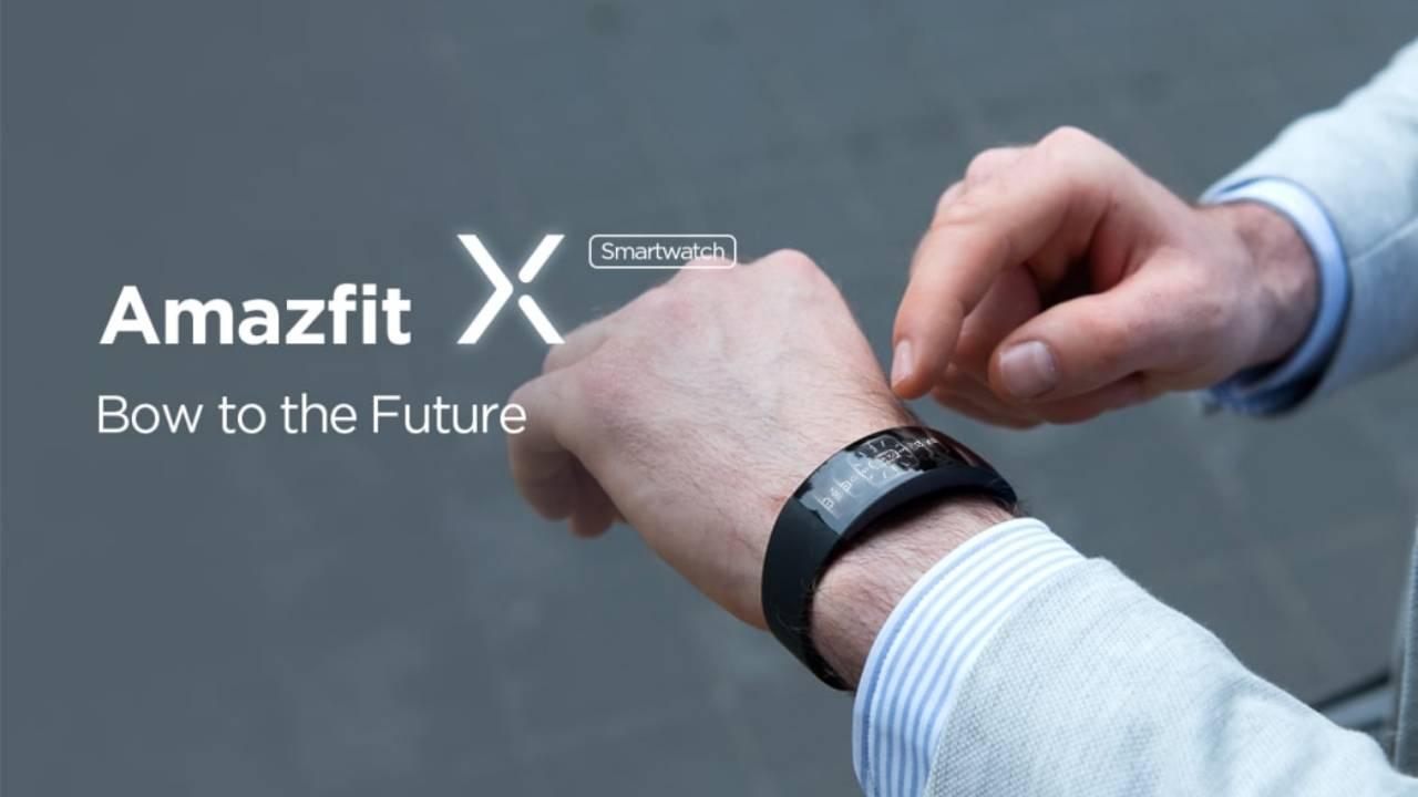 Amazfit X slaps a curved smartwatch on your wrist