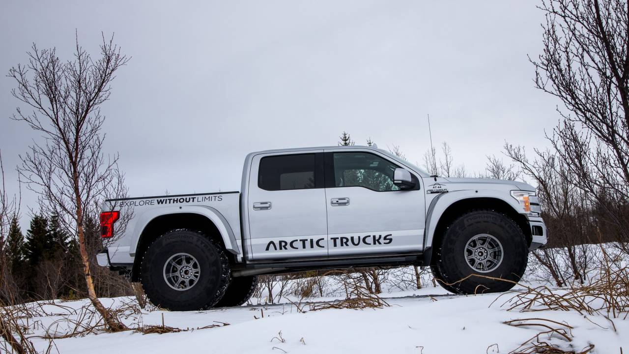 Ford F-150 AT44 by Arctic Trucks is ready for snow duty
