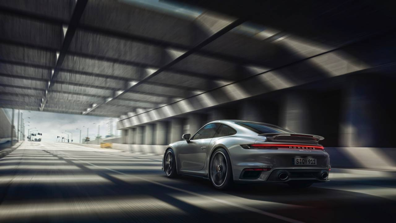 Porsche Active Aerodynamics is at the heart of the 911 Turbo S