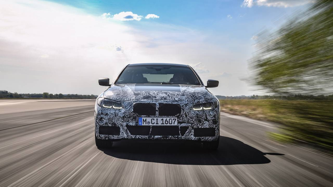 BMW 4 Series Coupe has entered its final phase of dynamic testing