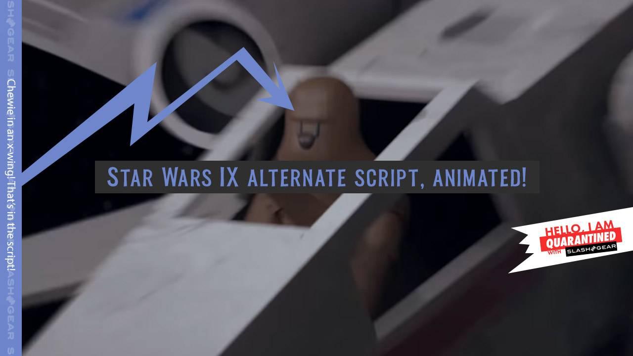 Alternate Star Wars IX script animated in video
