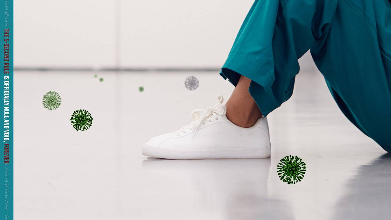 Coronavirus spread study points to your shoes