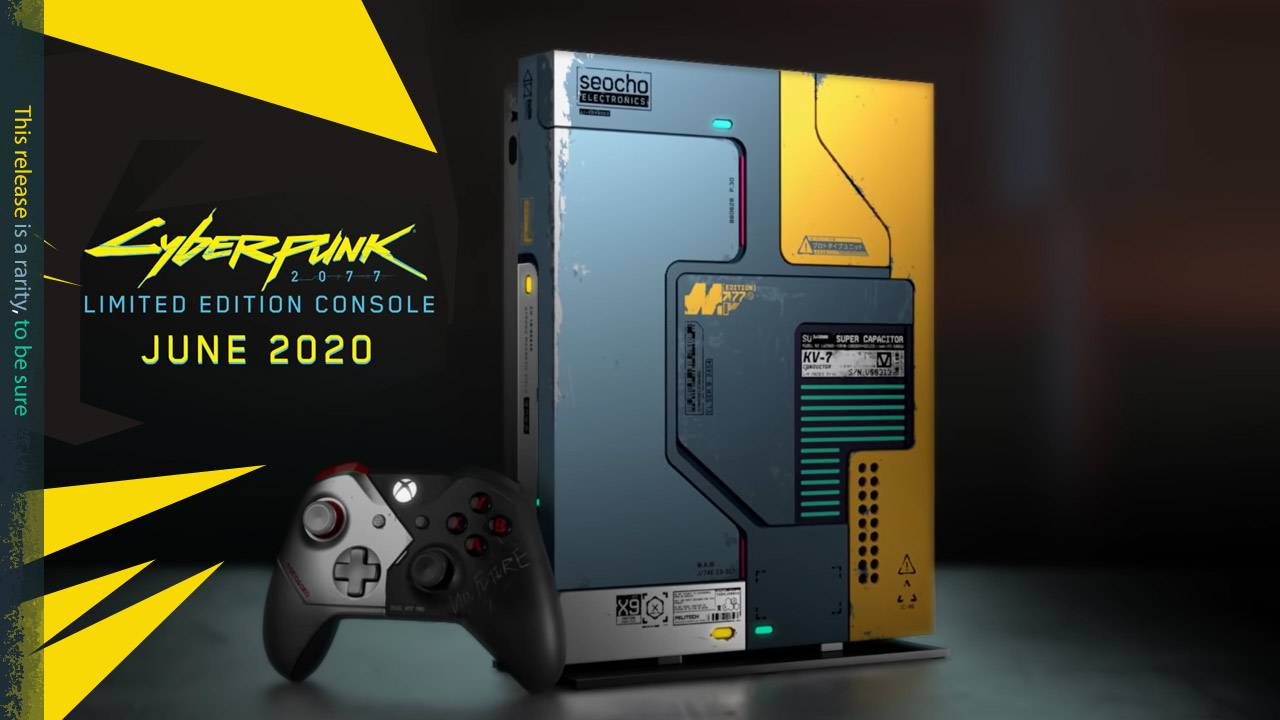 Xbox One X Cyberpunk 2077 Limited Edition Bundle looks as radical as possible