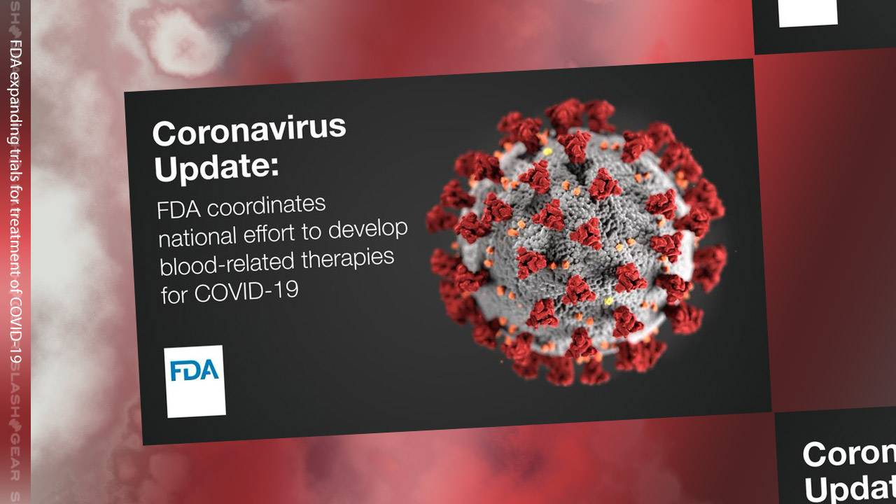FDA expands on 2 coronavirus treatment trials