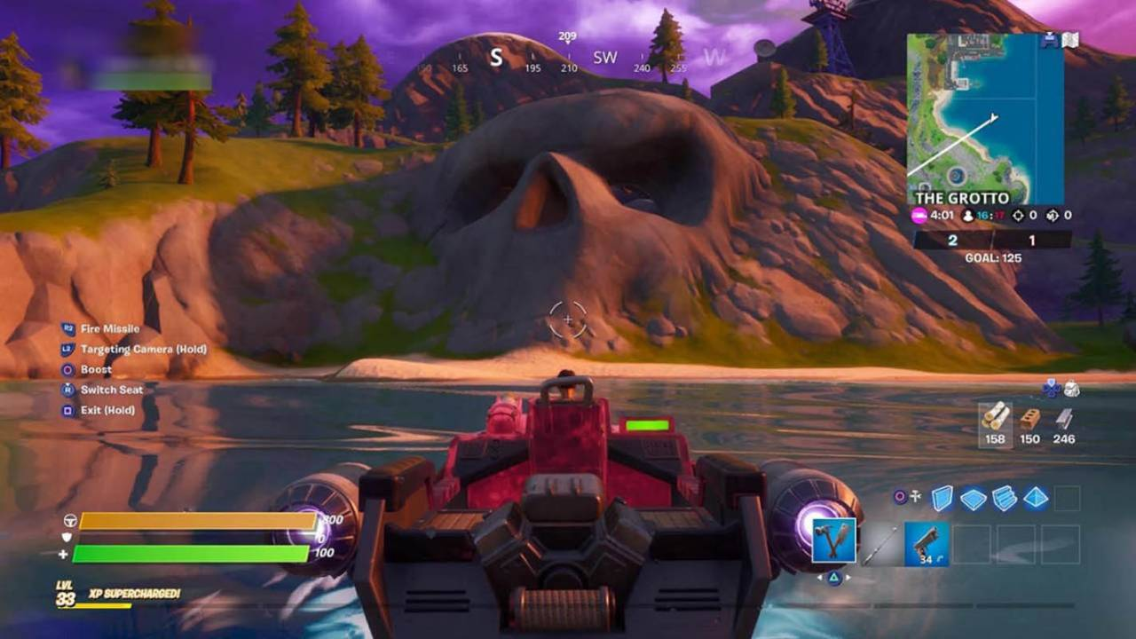 Fortnite's latest instant death spot appears in The Grotto