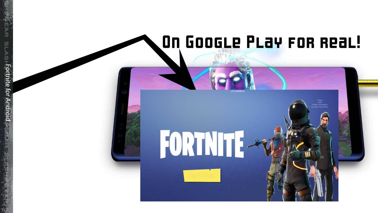 Fortnite released to Google Play for Android, Epic explains why