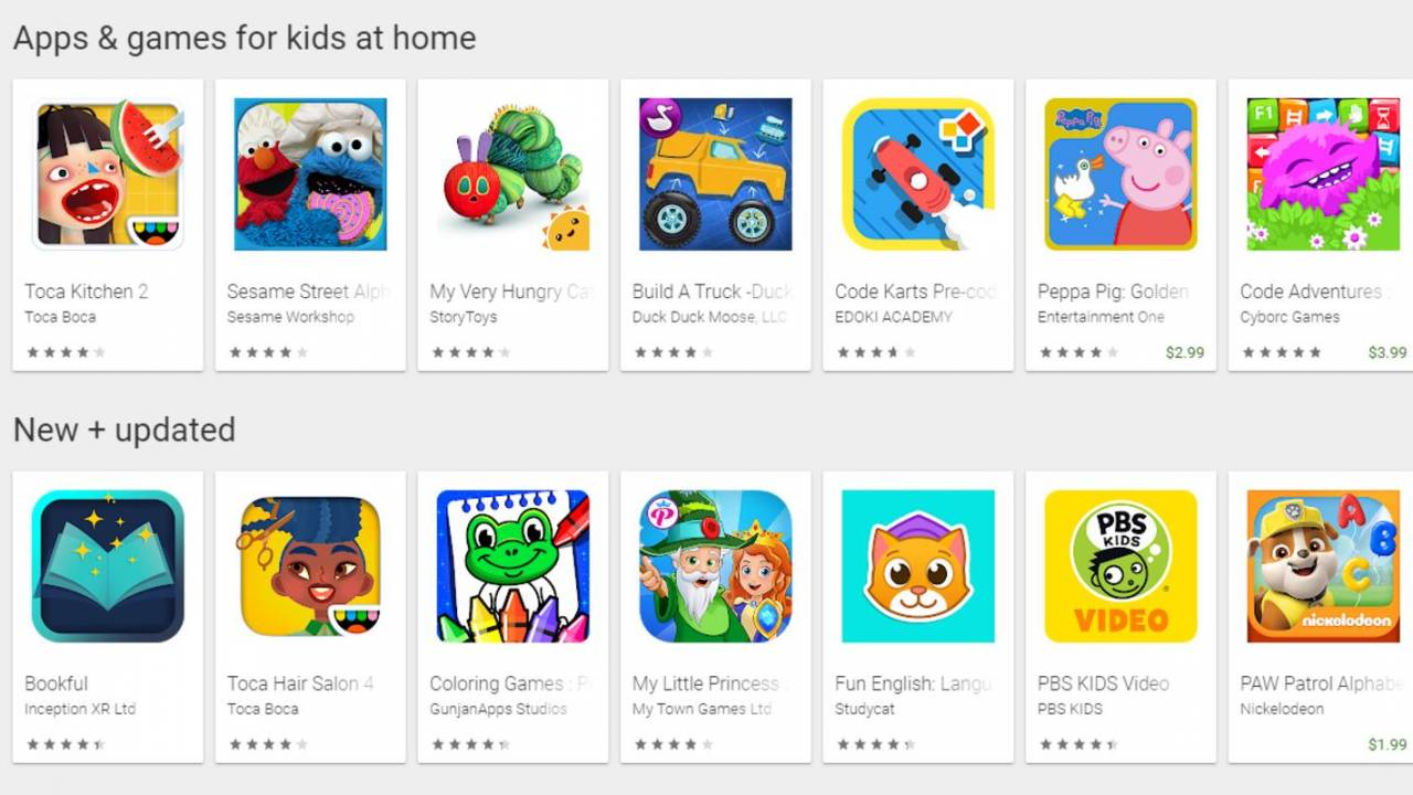 Google makes it easier to find kids apps with Teacher Approved badge