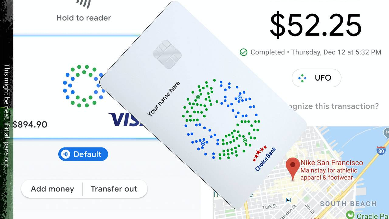 Google Card leaked: Contactless payments, simple digital money hardware